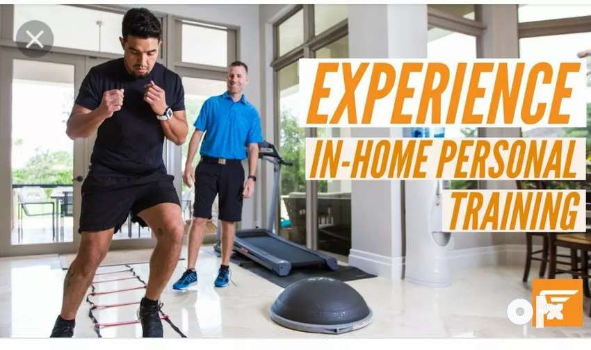 Personal training at home..