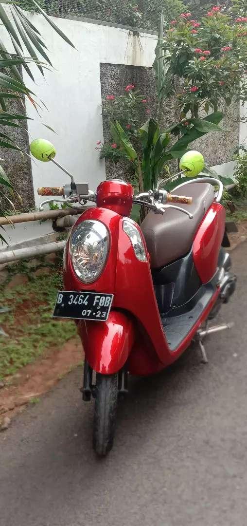Honda Scoopy fi 2013 mesin alus 0