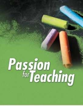 Passionate teachers