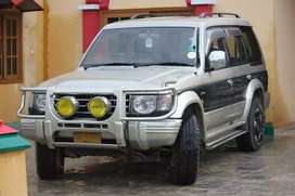Mitsubishi Pajero  ***trip on mountain***