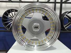 cicilan velg HSR AACHEN HSR R16X89 H8X100-114,3 ET3025 SMFL (2)
