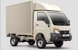 Tata ace (with container) available for attachment/rent with driver