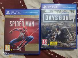 SPIDERMAN PS4 AND DAYS GONE BUNDLE