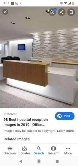 Receptionist cum OPD coordinator