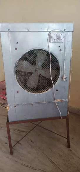 Window cooler.Fan Motor is not working properly