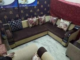 Corner sofa sets brand new at Satya furniture