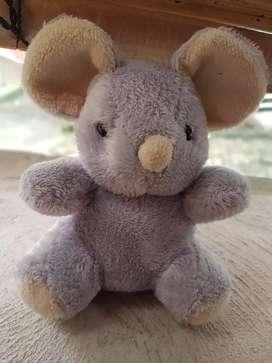 Boneka gajah warna abu ex hadiah