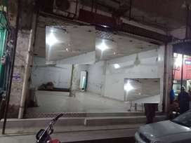 shop hall for rent for pharmacy departmental store or any setup
