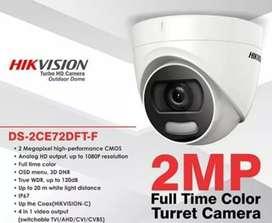 CCTV Hikvision Colorvu berwarna meski dalam gelap