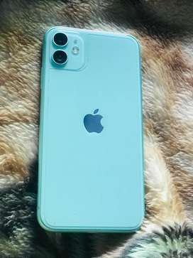 Iphone 11  64gb  with clear condition  and 11 covers free with phone