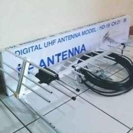Ahlinya pasang antena TV dan servis