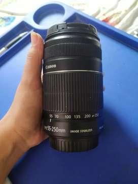 Canon EFS 55- 250mm lens