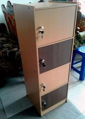 Rak Serba Guna 4 Pintu Ful Kunci (Product By Olympus)