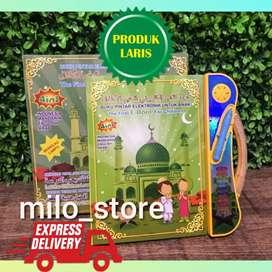 Buku edukasi anak muslim 4 bahasa mainan versi terbaru