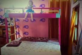 Bunk Bed (triple bed) for kids Room