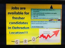 Job opportunities in Dehradun