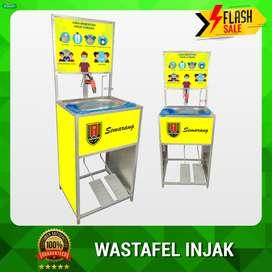 Wastafel Portable Injak Branding Daerah