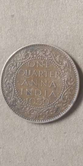This is an old and lucky 1939 coin