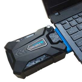 Vacuum cooler kipas pendingin laptop notebook komputer macbook rog i7