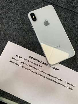 iPhone X 64GB white good Condition 14 Months old