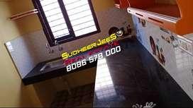 കരമന ജംഗ്ഷന് സമീപം,1 BHK,പുതിയ വീട്,മുകളിലത്തെ  നില,കാർ പാർക്കിങ്...