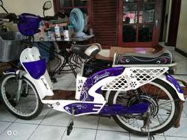 Sepeda listrik sunrace beauty