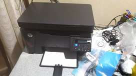 HP laser printer, Model: M126nw (wireless) Laser jet pro