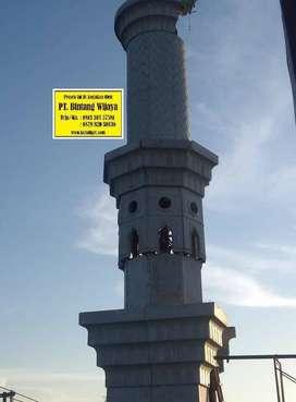 kontraktor Menara Masjid GRC Di Paku Haji