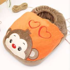 Cute Feet Warm Slippers Foot Warmer