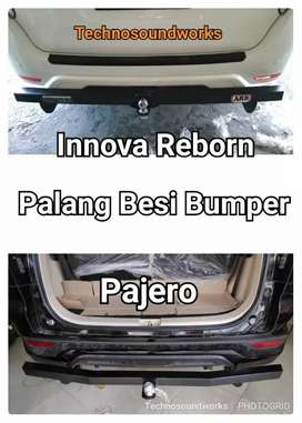 Palang towing arb pajero old new bumper besi plat tebal for sound