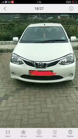 Toyota Etios 2017 Diesel Good Condition