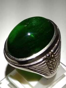 Green Obsidian or zamrud borneo. Kode 82