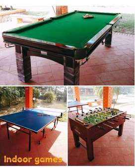 pool table and snooker table in gud condition