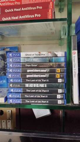 PS 4 DVDS FOR SALE