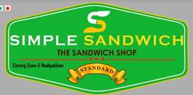 Looking for part timer for sandwich shop located at Madipakkam area