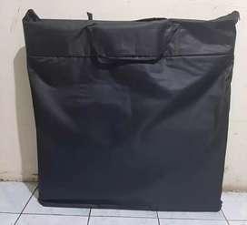 Meja/booth portable plastik
