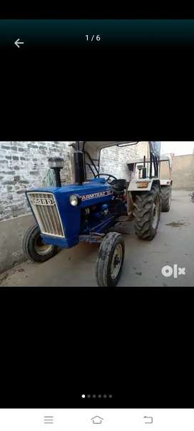 Farmtrac 50 Haryana number full engine full pump sara kam hoiya