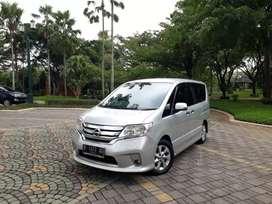 (Tdp 10jt) Nissan Serena HWS 2.0 AT 2013 (Istimewa)
