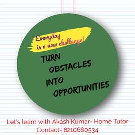 An Experienced Home Tutor is available for all board.