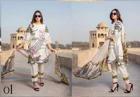 New summer season lawn collection hole sale. Branded suits