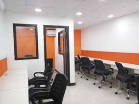10 seater furnished commercial office at MG road indore
