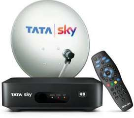 TATA SKY HD BRAND NEW DTH CONNECTION JUST ONLY ON 999 Rs/-