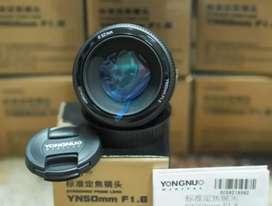 Lensa fix yongnuo for canon stok terbatas