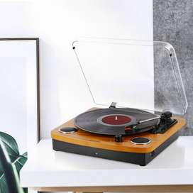 Bluetooth Turntable Gramophone ,JOPOSTAR Vinly Record Player