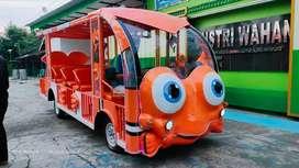 BT jual wahana mainan anak odong odong mesin cary