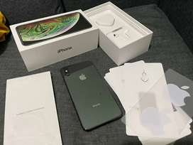 iPhone Xs Max 256GB Space Gray Original - Like new - Fullset - bisa Tt