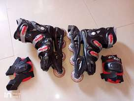 For adults Yonker inline Roller skates size 8 inch large