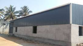 Warehouse/godown, fulfillment centre, Newly built, Near L&T by pass ro