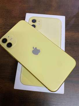 Yellow Color Iphone 11 [128 GB]