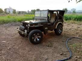 Mahindra Willy's jeep with powerful Toyota 3c turbo engine